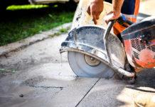 taiere beton pentru instalatia sanitara